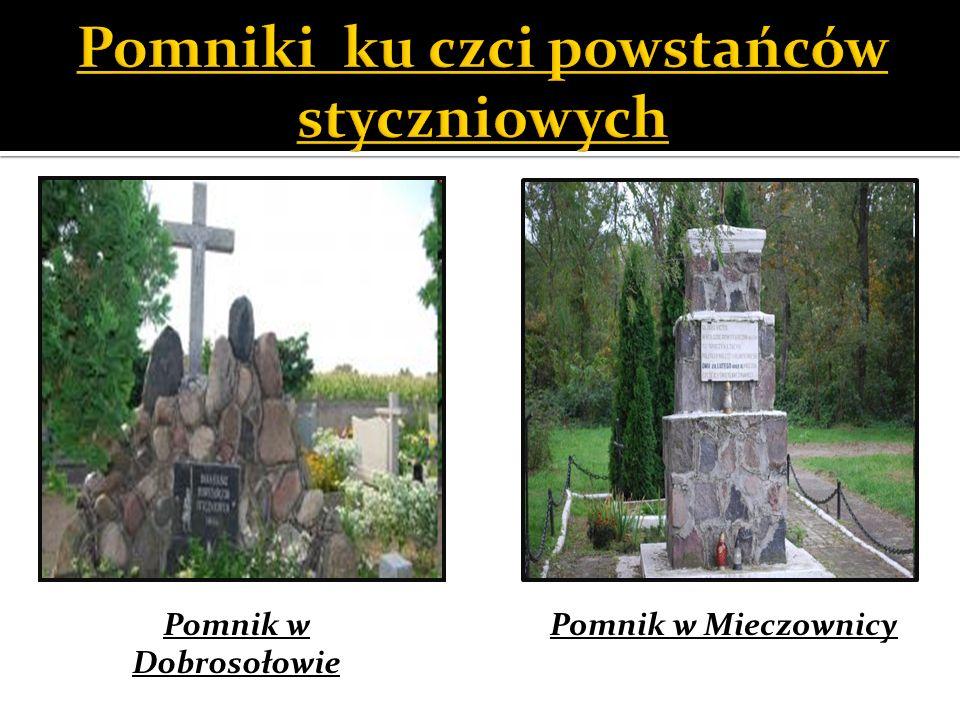 Pomnik w Dobrosołowie Pomnik w Mieczownicy