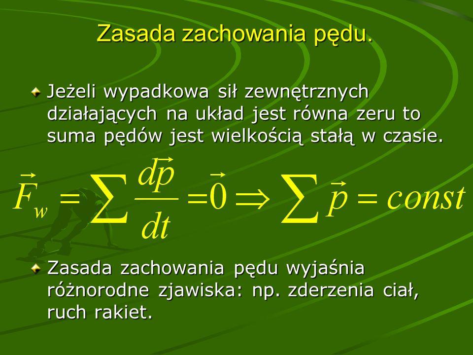 Ruch jednostajny prostoliniowy Prędkość jest stała w czasie, tor jest linią prostą.