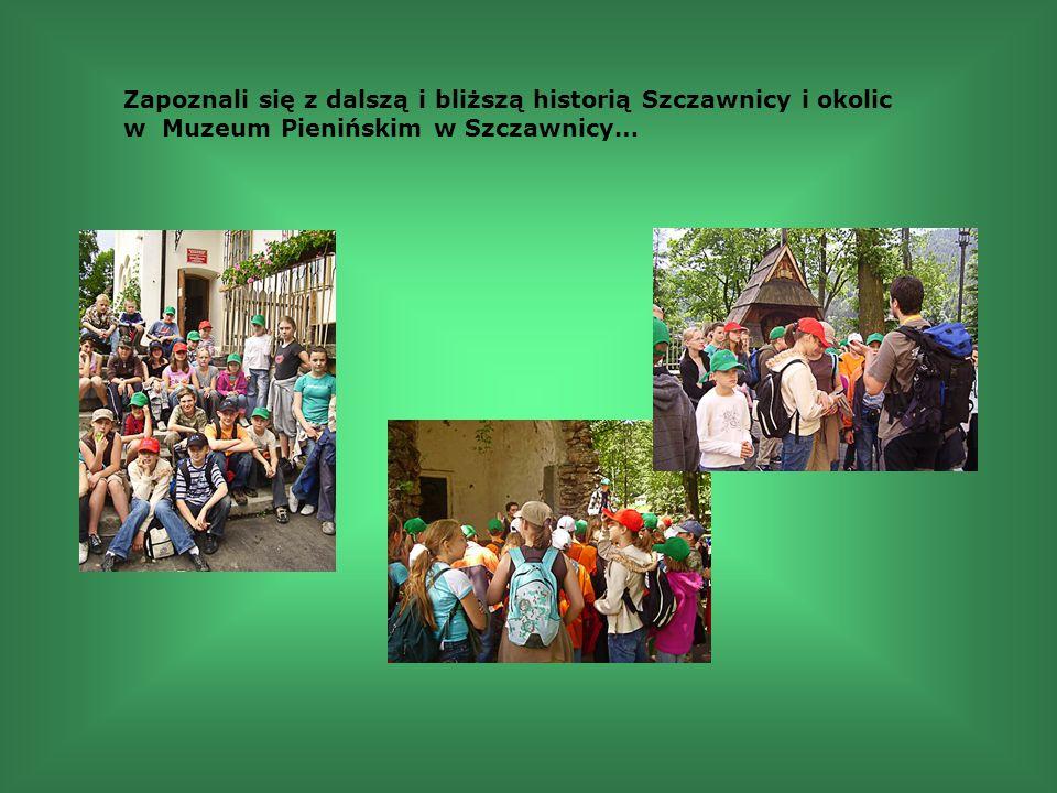 Zapoznali się z dalszą i bliższą historią Szczawnicy i okolic w Muzeum Pienińskim w Szczawnicy…
