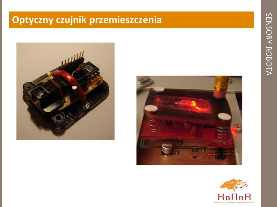 SENSORY ROBOTA Optyczny czujnik przemieszczenia