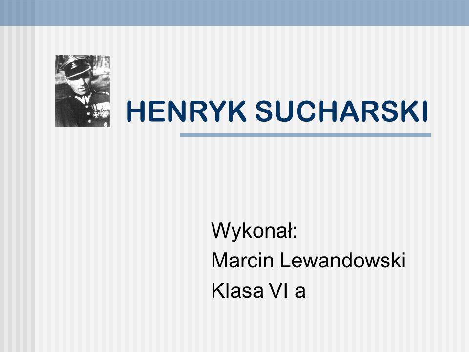 RODZINA Sucharski Henryk urodził się 12 listopada 1898 roku w Gręboszowie jako czwarte dziecko w rodzinie Stanisława Sucharskiego i Agnieszki z domu Bojków Rodzice Henryka Sucharskiego z dziećmi: Anną (stojącą z lewej), Romanem i Bronisławą (stojącą za nimi).