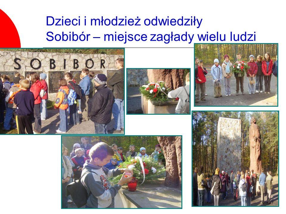 Dzieci i młodzież odwiedziły Sobibór – miejsce zagłady wielu ludzi