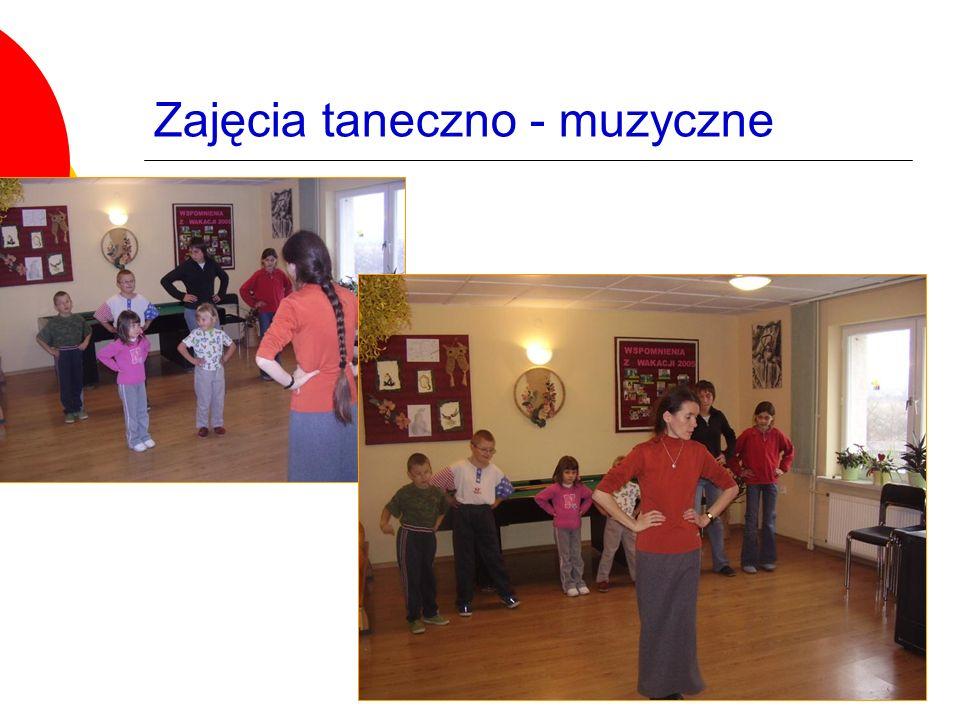 Zajęcia taneczno - muzyczne