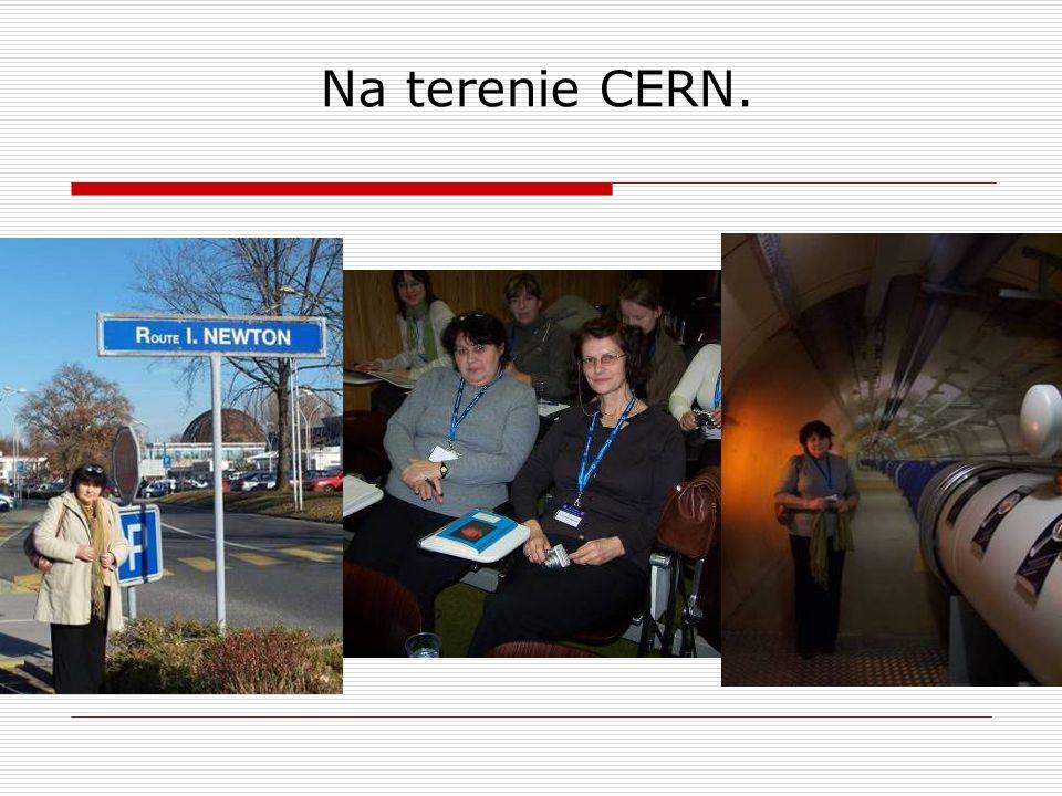 Na terenie CERN.