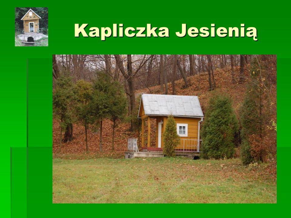Kapliczka Jesienią