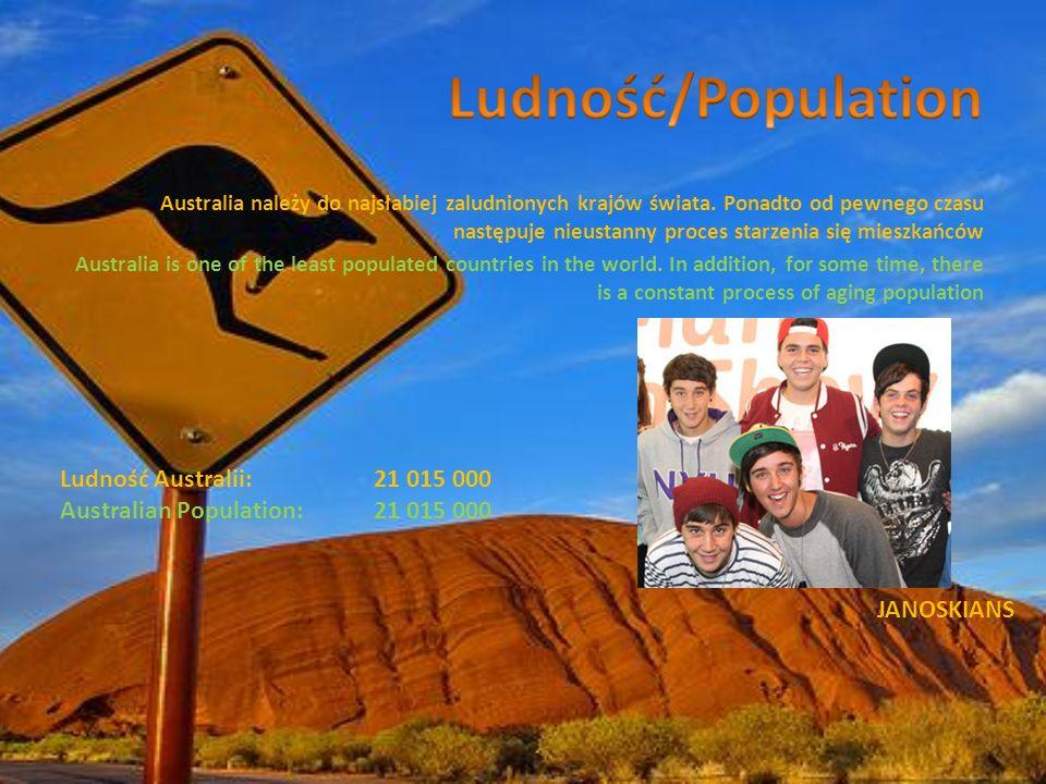 Aborygeni - rdzenni mieszkańcy Australii.Przybyli tam około 40-65 tys.