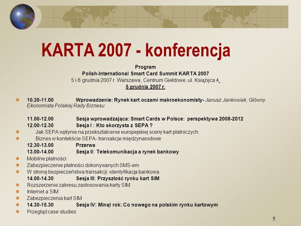 6 KARTA 2007 - konferencja 6 grudnia 2007 r.