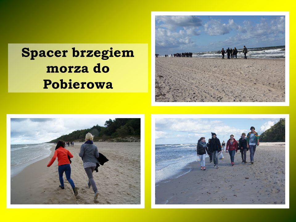 Spacer brzegiem morza do Pobierowa