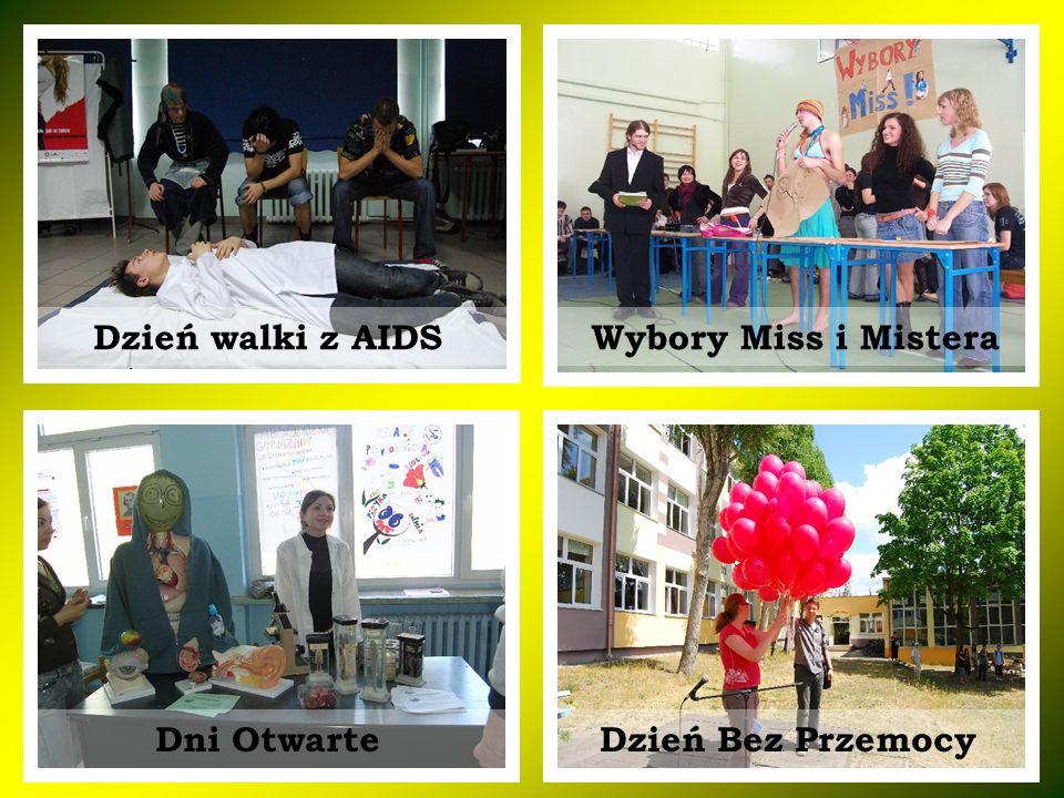 Wybory Miss i Mistera Dzień Bez Przemocy Dzień walki z AIDS Dni Otwarte