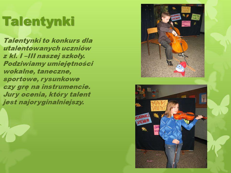 ,,Olimpiada maluchów Co roku w listopadzie na Hali Widowiskowo Sportowej odbywa się Malucholada. Dzieci z klas III inowrocławskich szkół biorą udział
