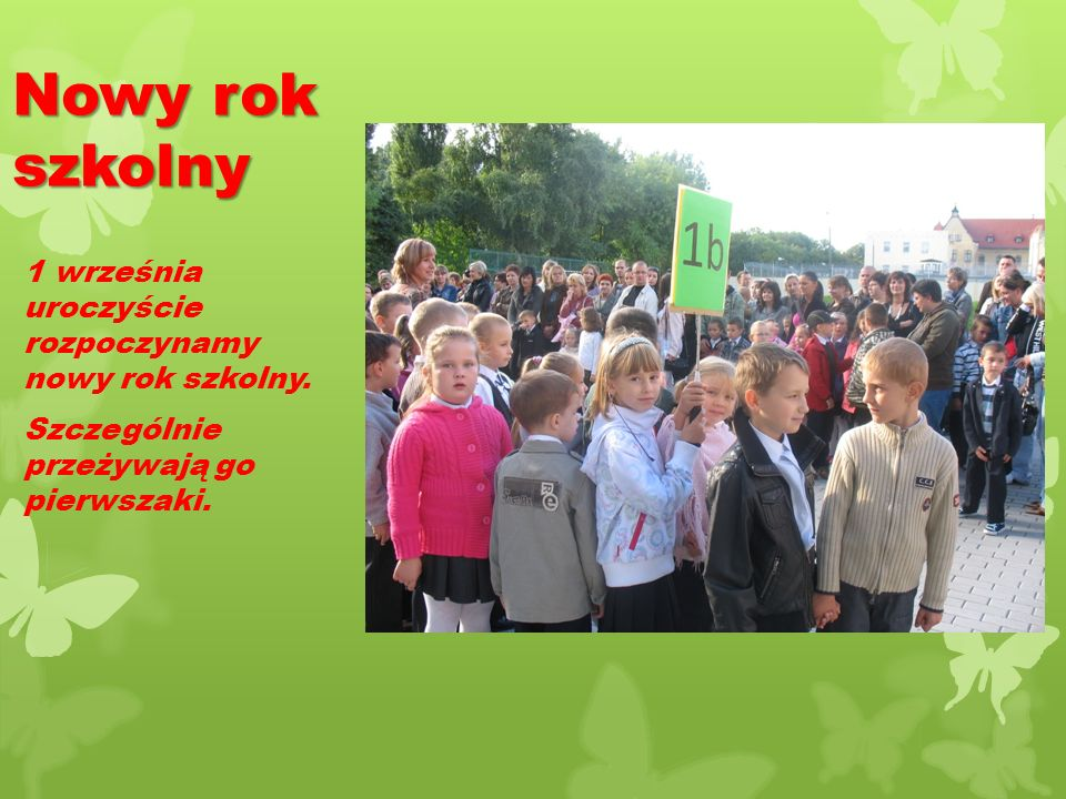 Wrzesień w naszej szkole Wrzesień w naszej szkole Wrzesień PoniedziałekWtorekŚrodaCzwartekPiątekSobotaNiedziela 1234 567891011 12 131415161718 1920 21