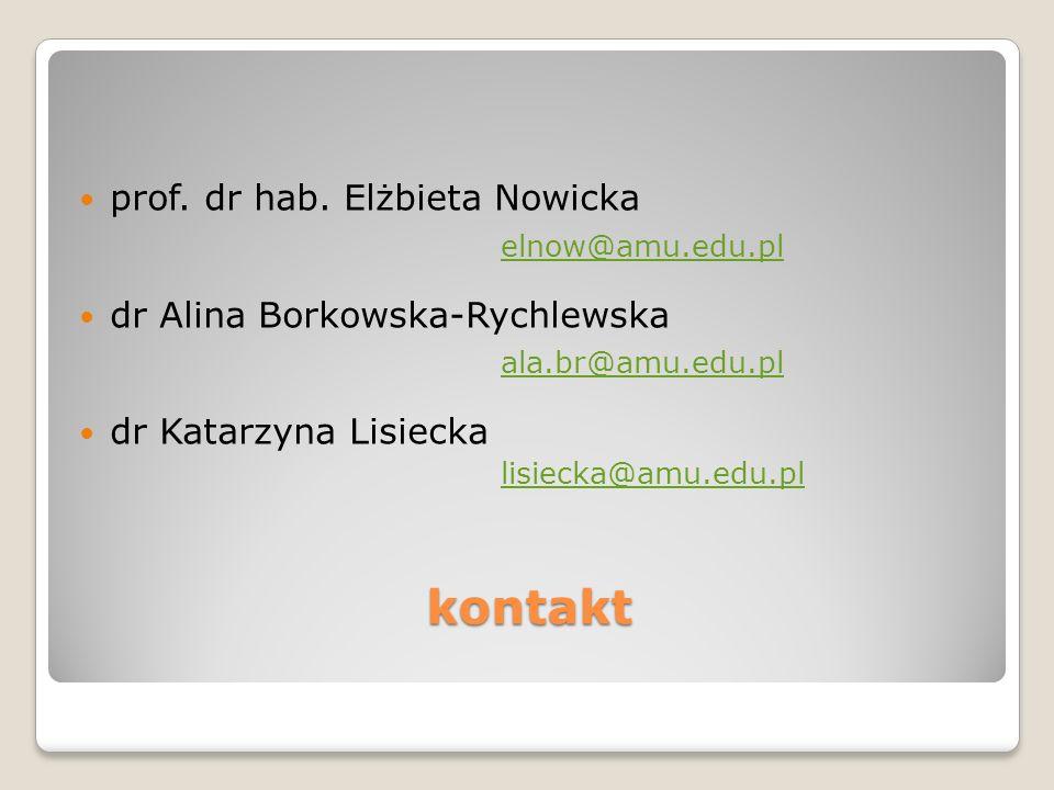 kontakt prof.dr hab.