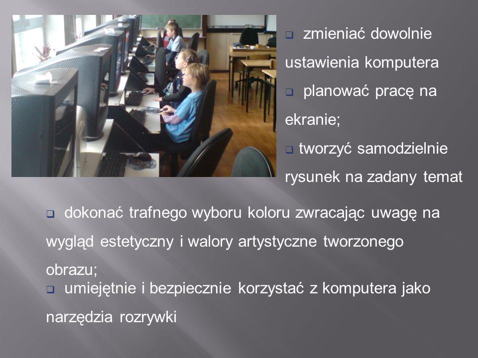 Program autorski Cztery łyki grafiki opracowany został jako realizacja potrzeby rozszerzania wiedzy informatycznej w drugim etapie kształcenia szkoły podstawowej.