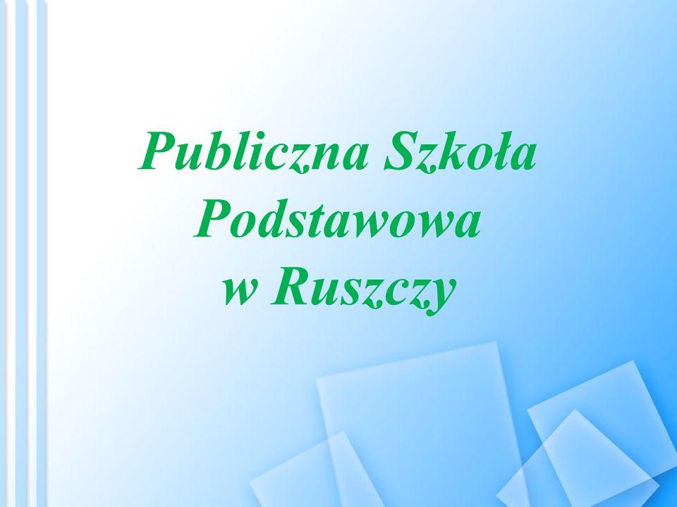 Publiczna Szkoła Podstawowa w Ruszczy