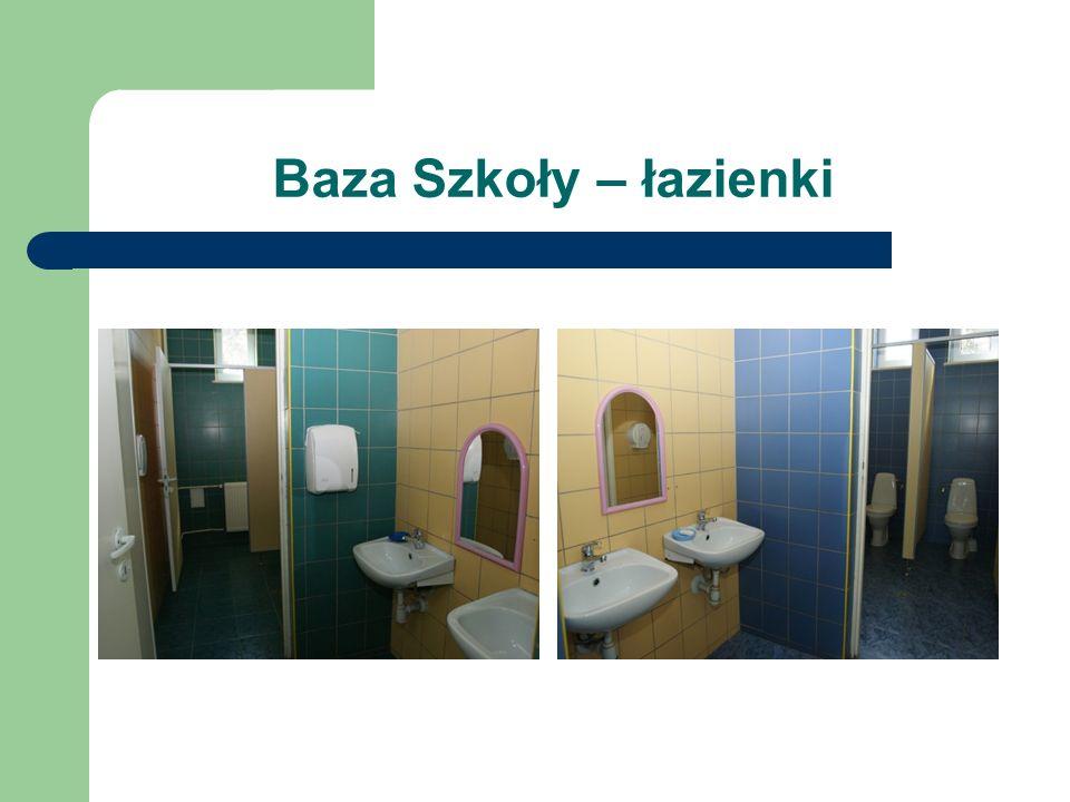 Baza Szkoły – łazienki
