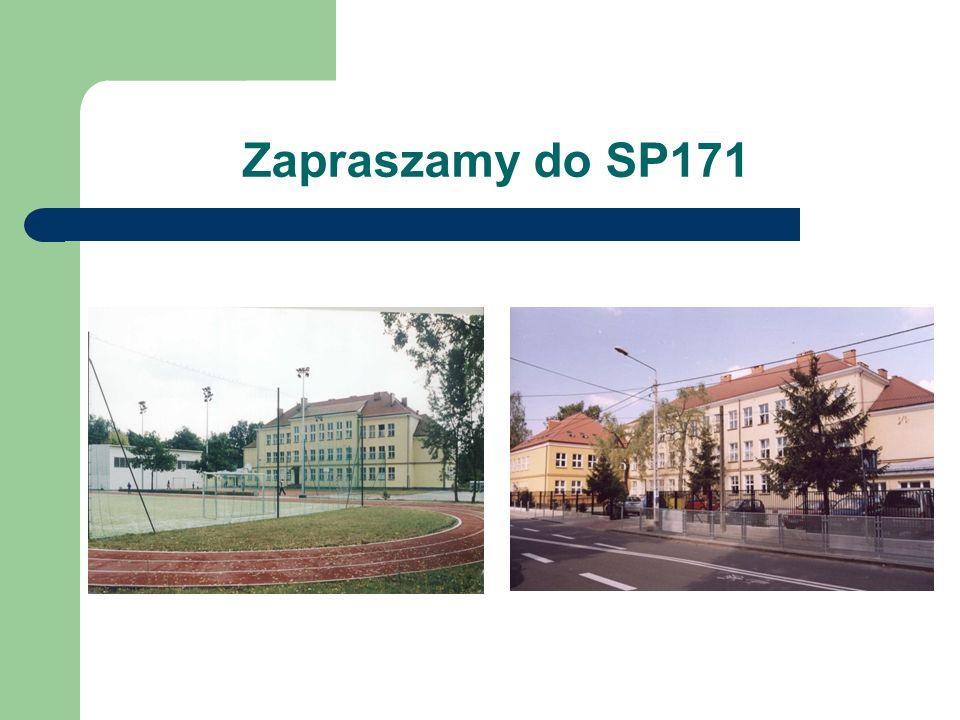 Zapraszamy do SP171
