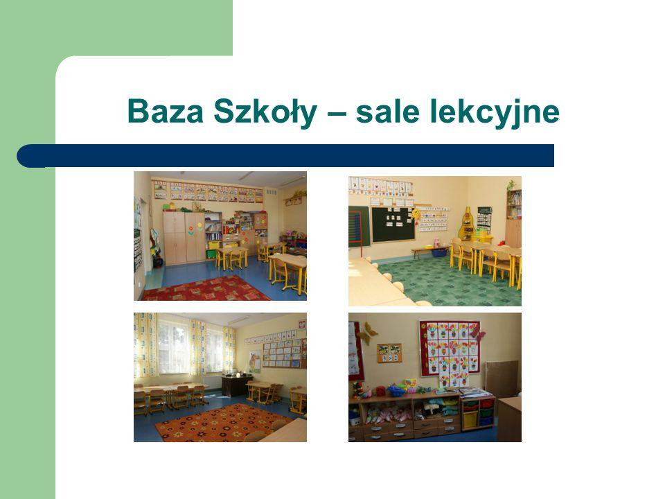 Baza Szkoły – sale lekcyjne