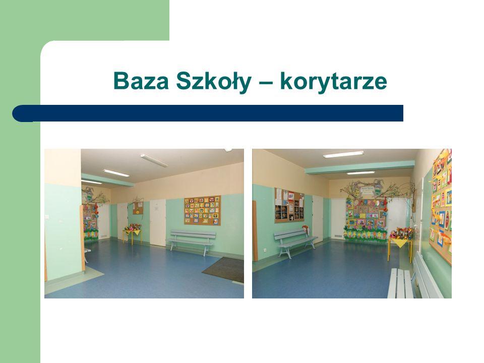 Baza Szkoły – korytarze