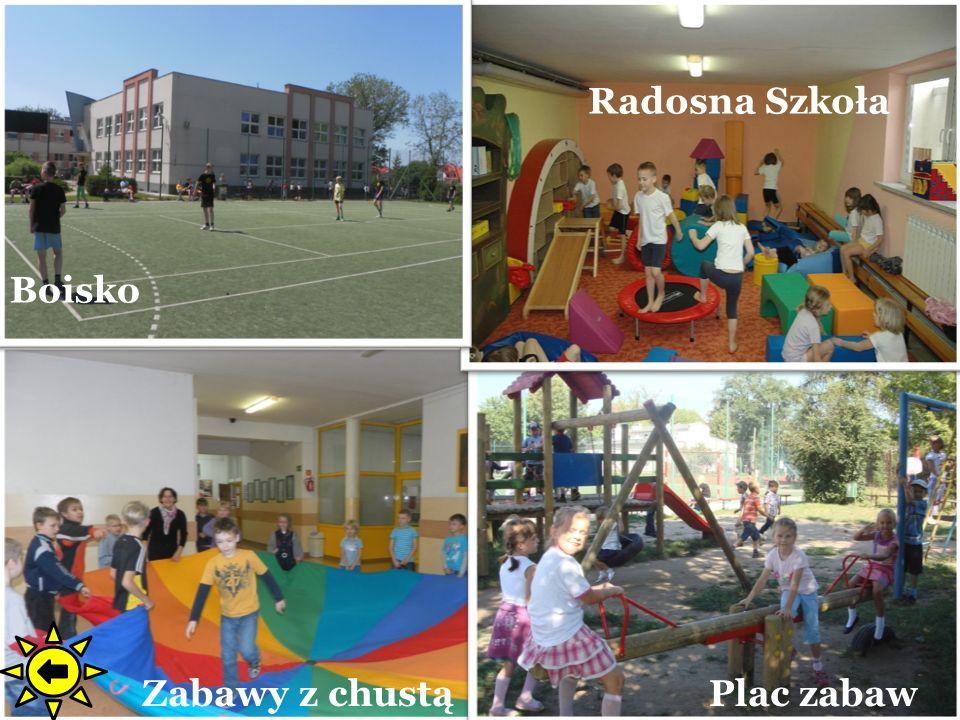 Plac zabaw Radosna Szkoła Zabawy z chustą Boisko