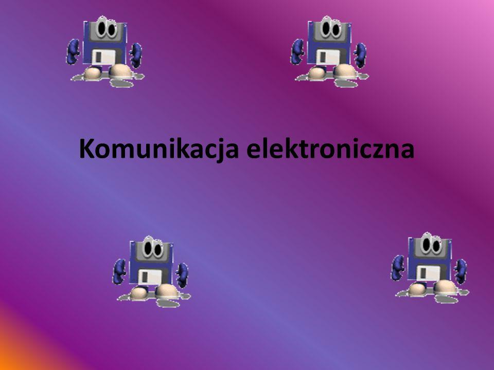 Komunikacja elektroniczna