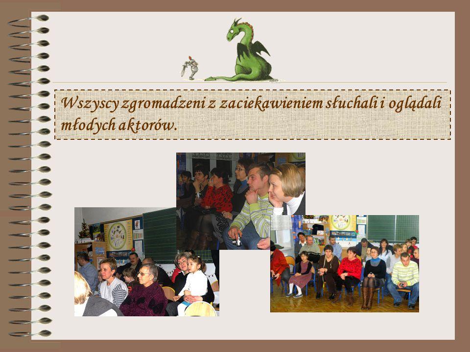 16 grudnia 2009 roku odbyło się spotkanie kończące realizację I- szego etapu Projektu. Uczniowie w ramach podsumowania zaprezentowali swoim kolegom z