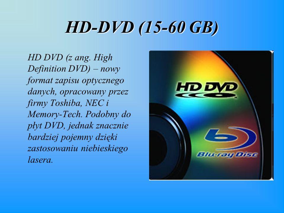 HD-DVD (15-60 GB) HD DVD (z ang.