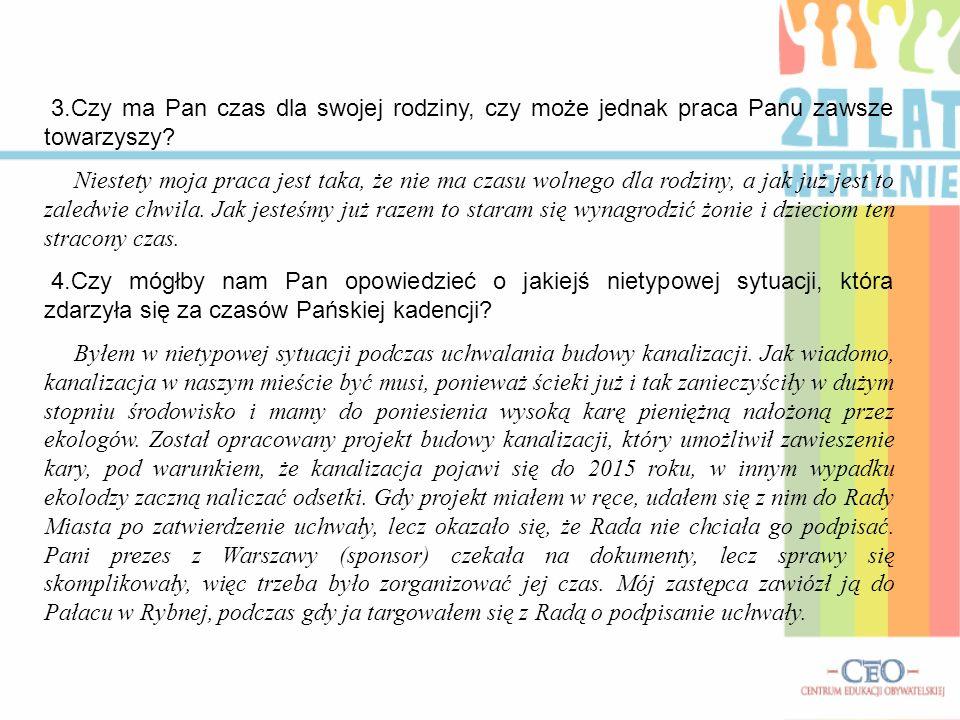 5.Czy pojawiły się jakieś nowe projekty renowacji obiektów na terenie Tarnowskich Gór.