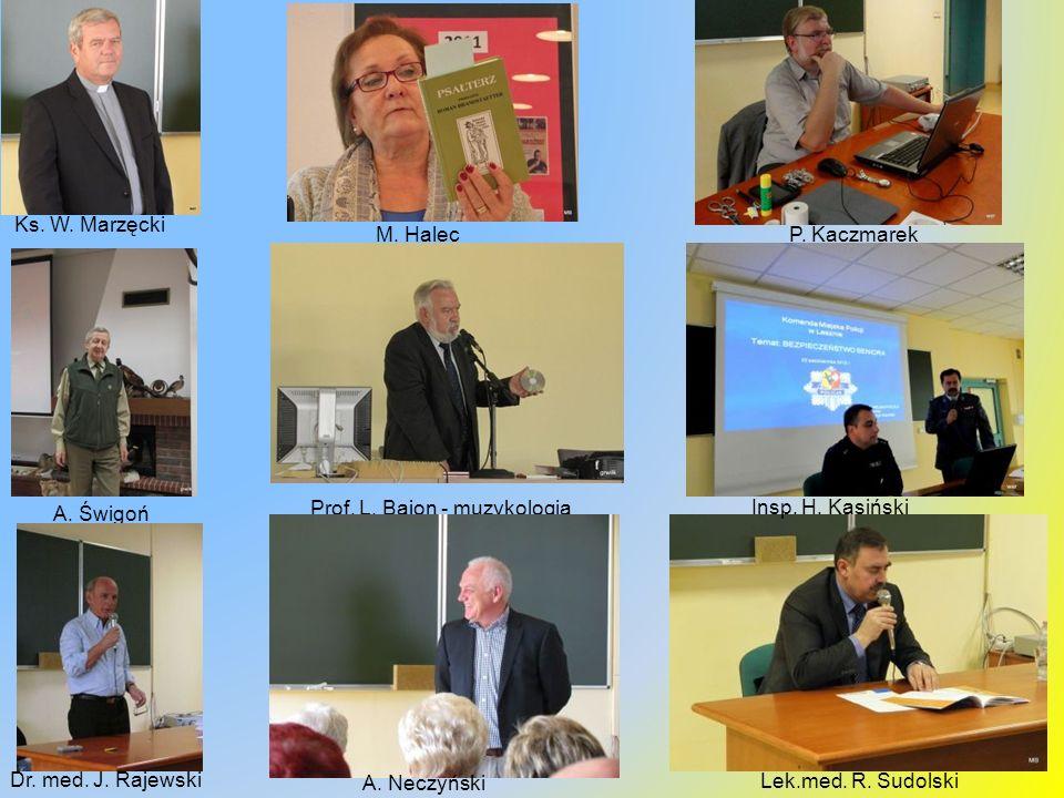 Sekcje, warsztaty i zespoły 2012/13 Lektoraty: j.niemiecki, j.angielski, j.francuski Akademia e – Seniora (zaj.