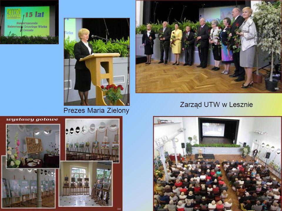 Goście Wyróżnieni przedstawiciele uczelni, placówek oświatowych i instytucji współpracujących Rada Słuchaczy Z najdłuższym stażem w UTW