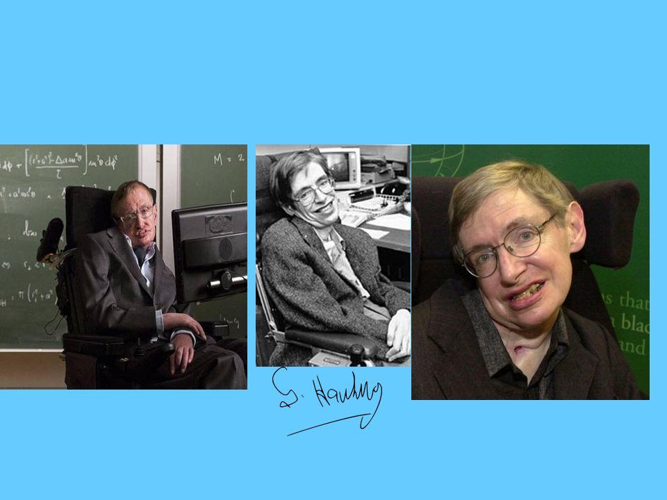 Notka biograficzna Stephen William Hawking - brytyjski astrofizyk, kosmolog, fizyk i teoretyk.