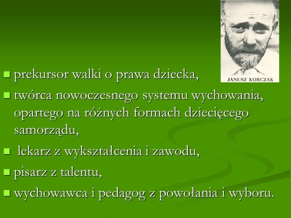20 reguł wychowania dzieci - Janusz Korczak 1.Nie psuj mnie.