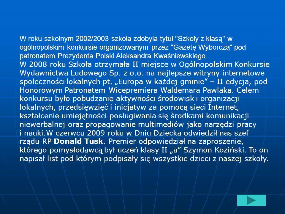 Szkoła Podstawowa im. Stefana Żeromskiego w Poniatowej jak i wcześniej Zbiorcza Szkoła Gminna w Poniatowej uważana była za jedną z najlepszych szkół w