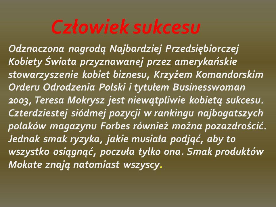 Jedna ze 100 najbogatszych Polaków Teresa Mokrysz