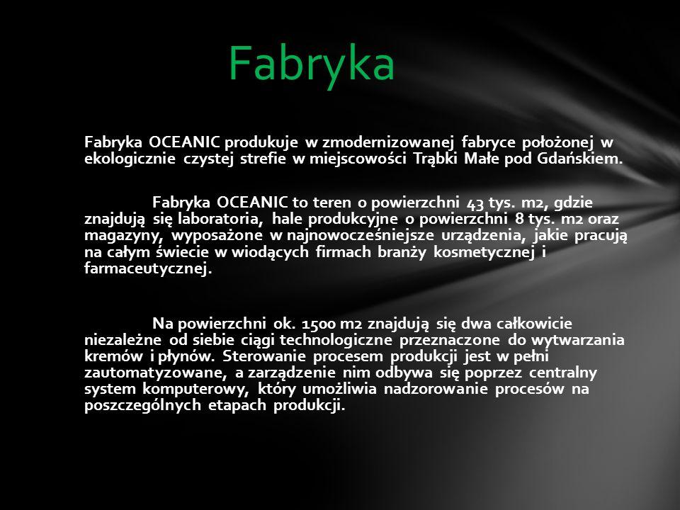 OCEANIC S.A. - jeden z liderów polskiego rynku kosmetycznego, od 30 lat specjalizuje się w produkcji światowej jakości kosmetyków antyalergicznych AA.
