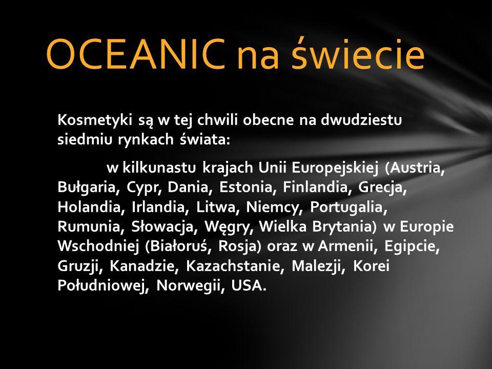 Misją firmy OCEANIC S.A. jest pomoc osobom, które mają wrażliwą i skłonną do alergii skórę, poprzez tworzenie bezpiecznych, skutecznych i nowoczesnych
