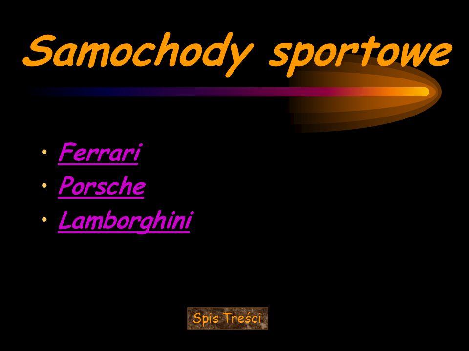 Ferrari - włoska marka samochodów sportowych.