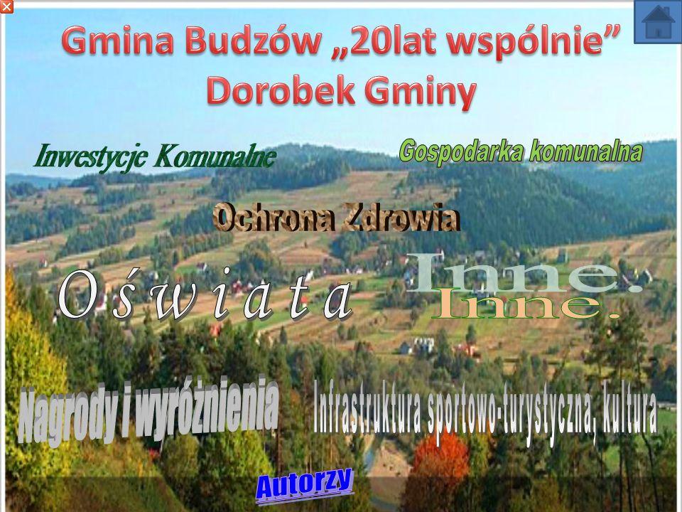 Gmina Budzów położona jest wśród malowniczych lasów jodłowo-świerkowych.