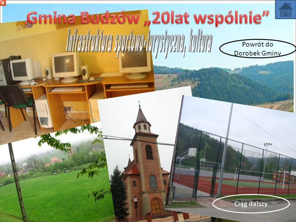 W zakresie infrastruktury turystycznej zrealizowano następujące zadania: Utworzenie szlaku edukacyjnego na Babicy w Bieńkówce.