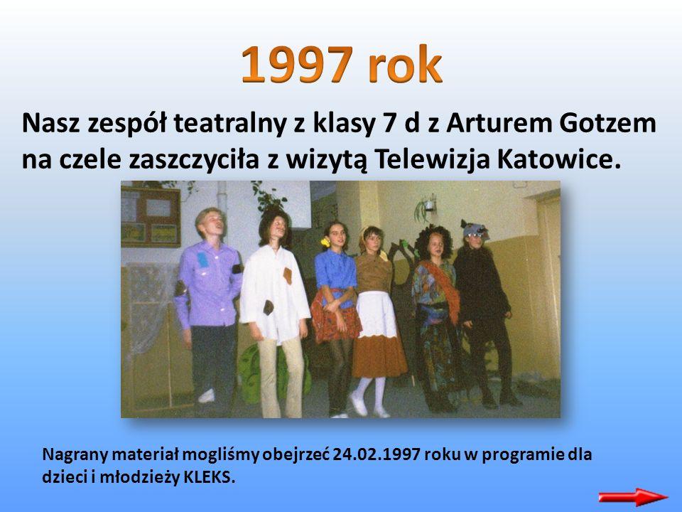 Pierwszego czerwca 1996 roku w Lipianach nasza szkoła została uroczyście przyjęta do Ogólnopolskiego Kręgu Przyjaźni Szkół i Placówek noszących imię K