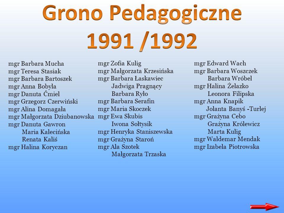 W ogólnopolskich eliminacjach piosenki dziecięcej Włocławek, Konin 95.