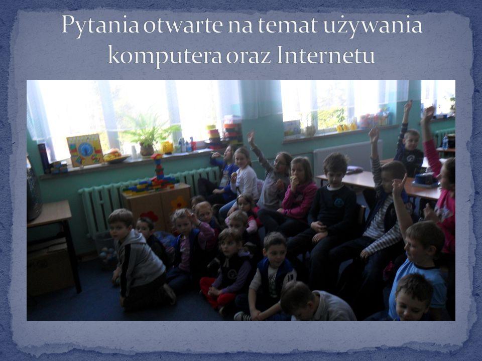 Uczniowie otrzymali informacje na temat bezpiecznego korzystania z Internetu Koordynator konkursu Marzena Smolińska