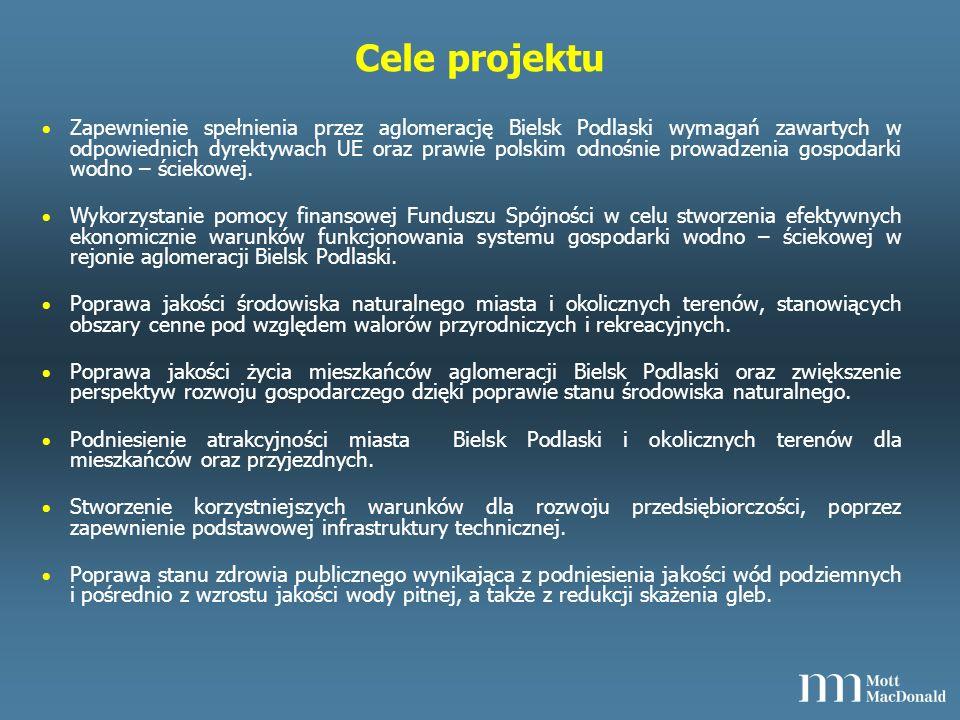 Wnioskodawca, operator, Beneficjenci projektu Wnioskodawca, operator i Beneficjent końcowy: – Miasto Bielsk Podlaski - Beneficjent – Przedsiębiorstwo Komunalne Sp.