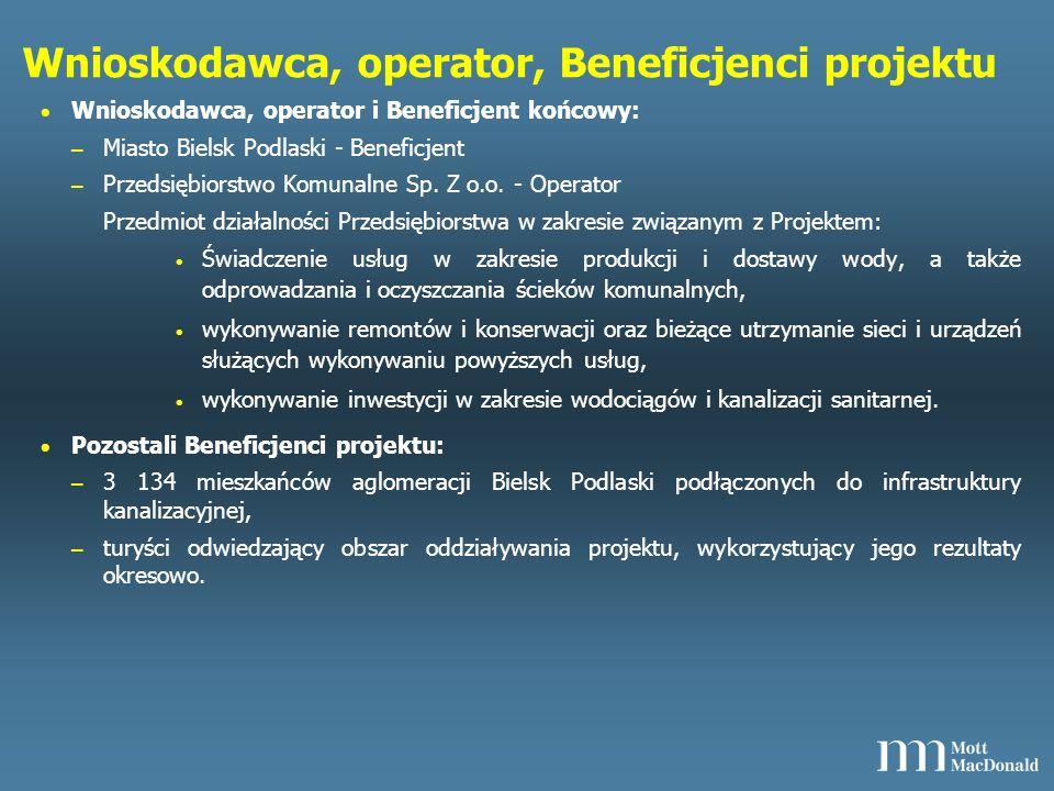Opis projektu - rozpatrywane warianty W fazie przedinwestycyjnej przeanalizowano warianty rozwiązania problemów związanych z infrastrukturą ochrony środowiska w ulicach w Bielsku Podlaskim z podziałem na poszczególne zadania.