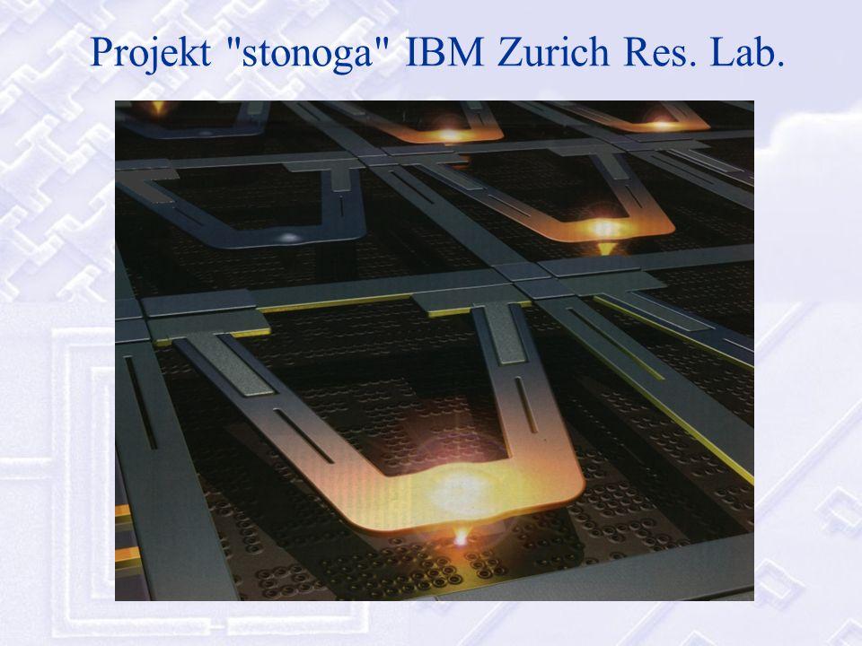 Projekt stonoga IBM Zurich Res. Lab.