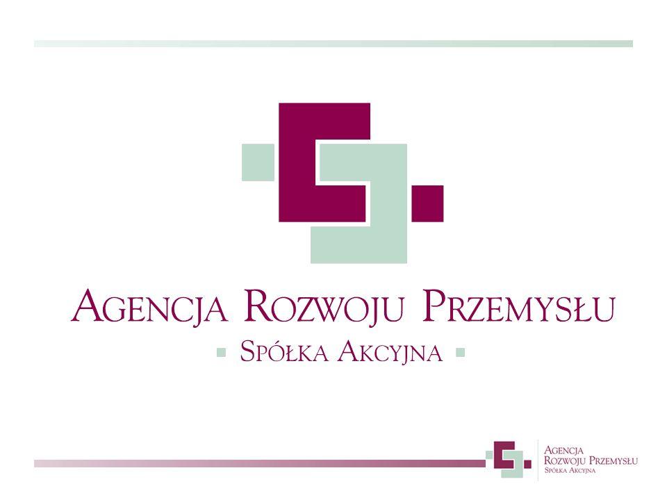 Misja ARP S.A.Misją Agencji Rozwoju Przemysłu S.A.