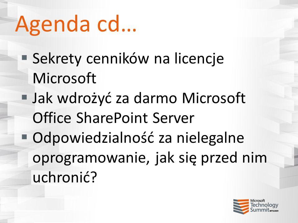 Produkty z technologią SQL nie trzeba SQL CAL do takiego SQL Server, można uruchamiać jedno wystąpienie takiego SQL Server (nie więcej!!!), SQL do wykorzystania tylko przez ten produkt mamy prawo do zrobienia pasywnego clustra pracy awaryjnej: w oddzielnym środowisku systemu operacyjnego, przeznaczone do tymczasowego użycia bez konieczności dokupowania licencji