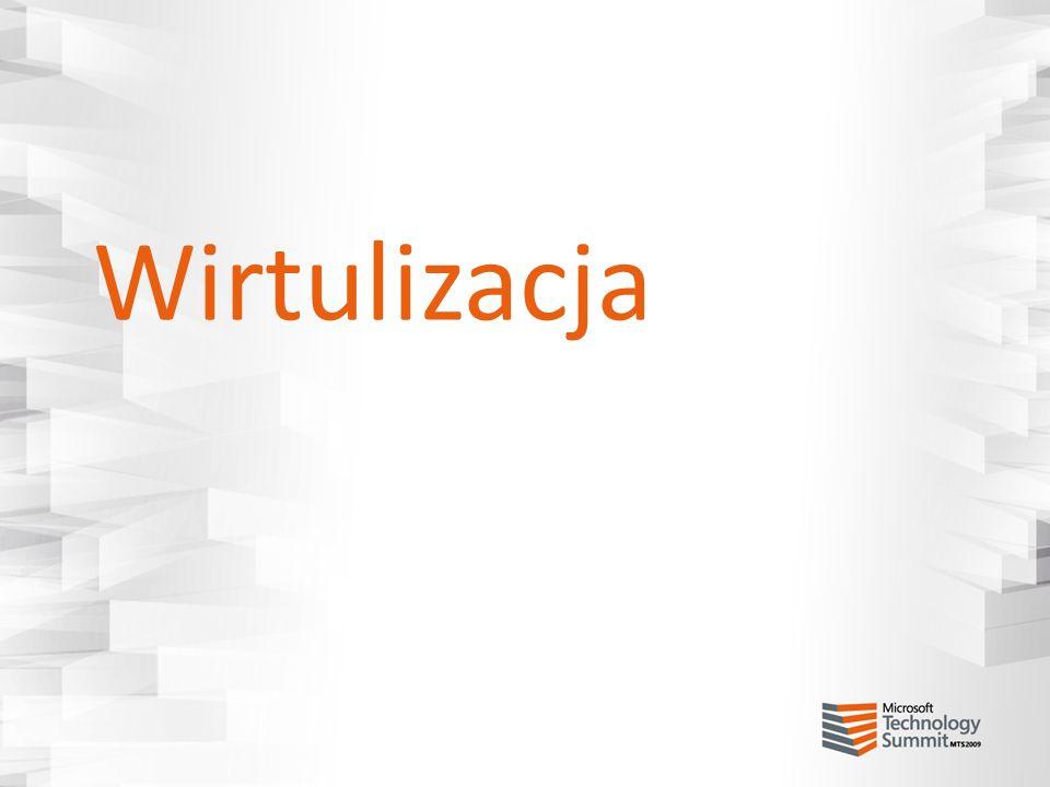Wirtualizacja - wystąpienia Co to jest wystąpienie oprogramowania.
