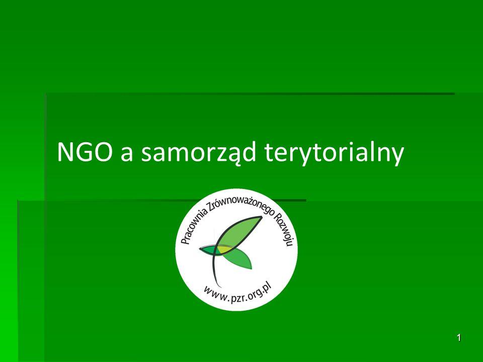 1 NGO a samorząd terytorialny
