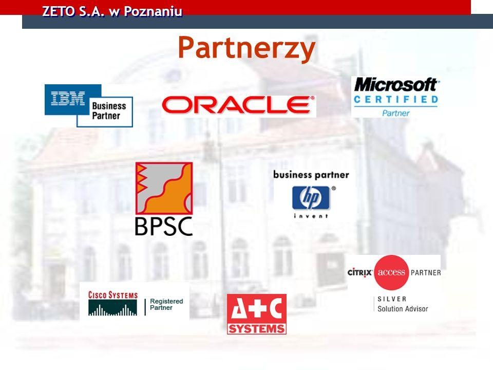 ZETO S.A. w Poznaniu Partnerzy