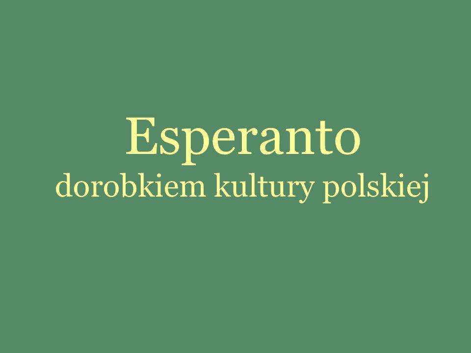 Z inicjatywy esperantystów zostało przygotowanych wiele pamiątek filatelistycznych.